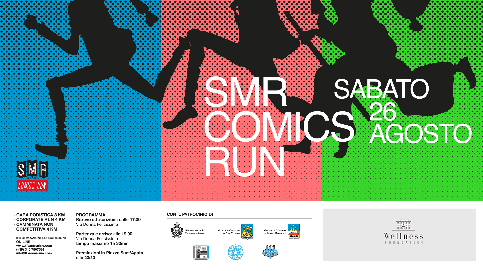Calendario Sportivo.Smr Comics Run Entra Nel Calendario Sportivo Della Wellness